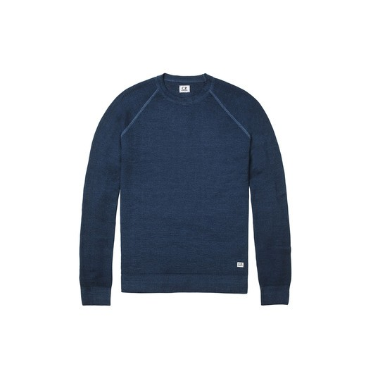 FAST DYED MERINO WOOL KNIT CREWNECK