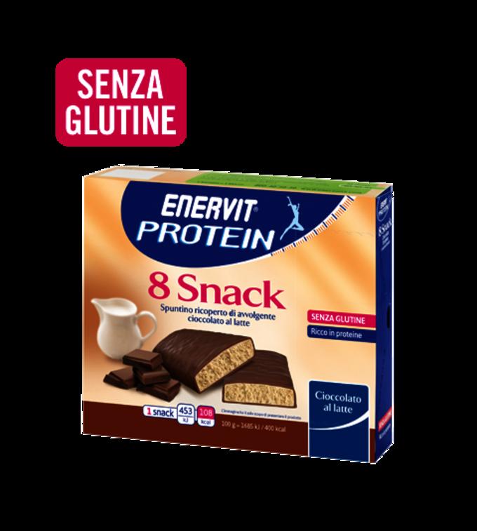 ENERVIT PROTEIN 8 SNACK CIOCCOLATO AL LATTE - Cioccolato Al Latte