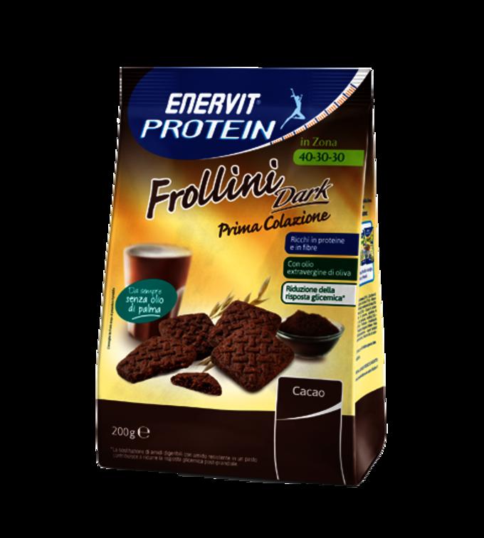 ENERVIT PROTEIN FROLLINI DARK - Cacao