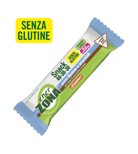 ENERZONA SNACK 40-30-30 AVENA E ARACHIDI - SWEET AND SALTY