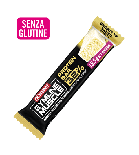 ENERVIT GYMLINE MUSCLE PROTEIN BAR 32% TORTA AL LIMONE - Torta Al Limone