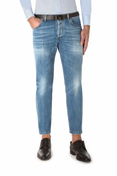 Short five pockets jeans