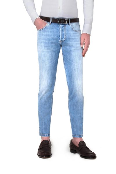 Short light 5-pocket jeans