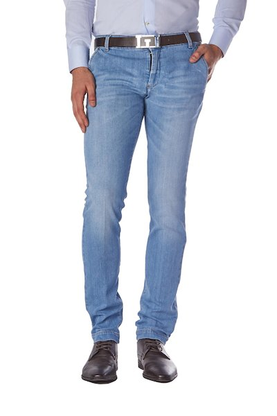 American pocket long jeans with frisi