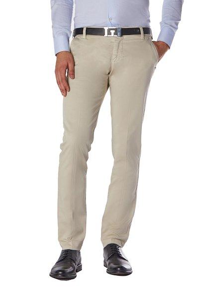Soft line- American pocket long cotton  trousers