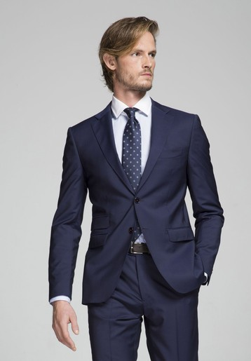 Americana lana medium azul