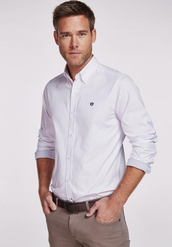 Camisa algodón clásica slim