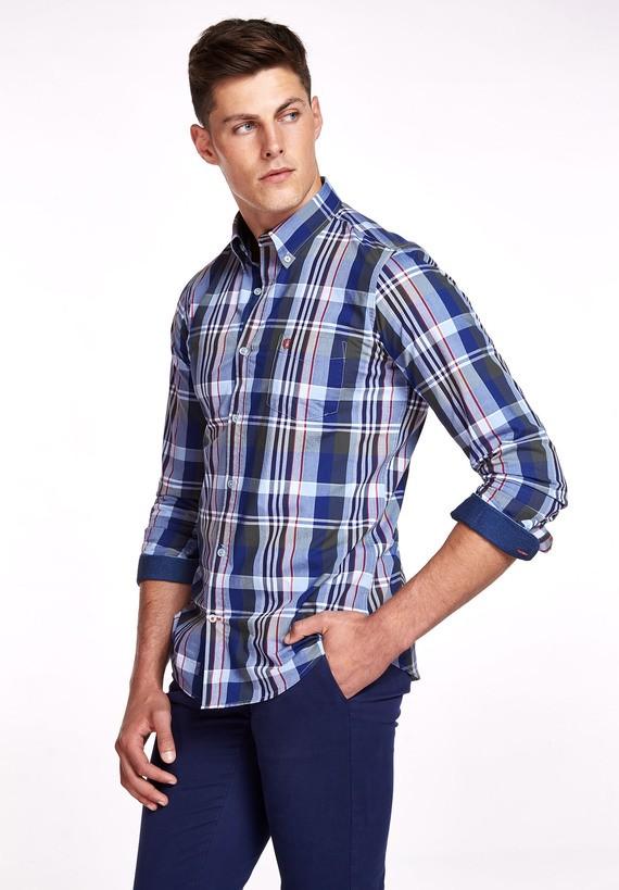 Camisa Popelín detalles regular