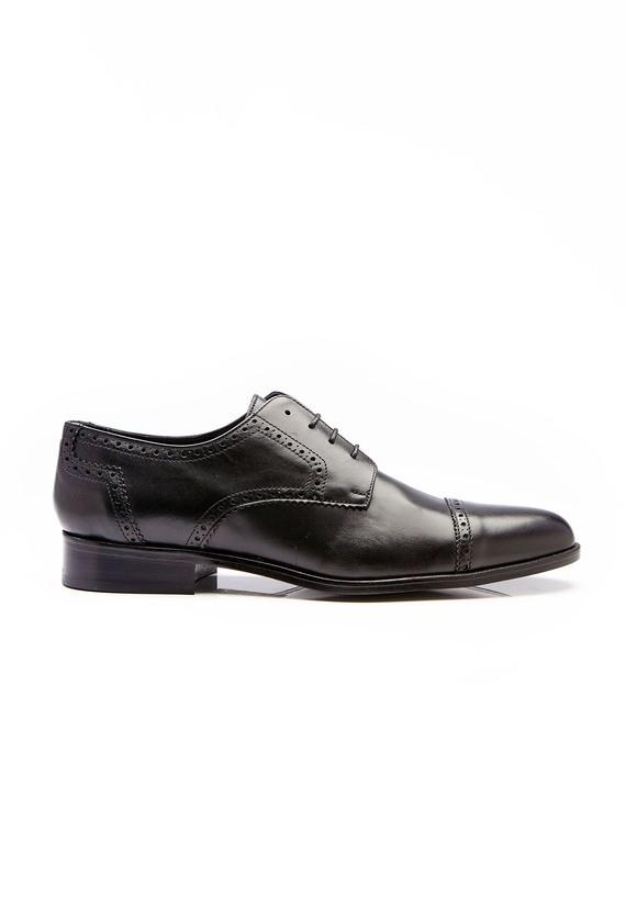 Zapato oxford piel negro