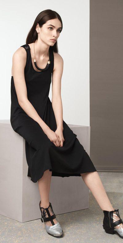 Black Olympic dress