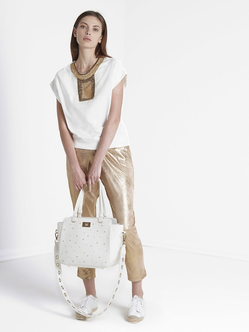Waistline drawstring  trousers