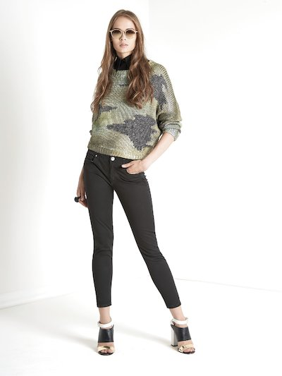 Jeans skinny con cinque tasche