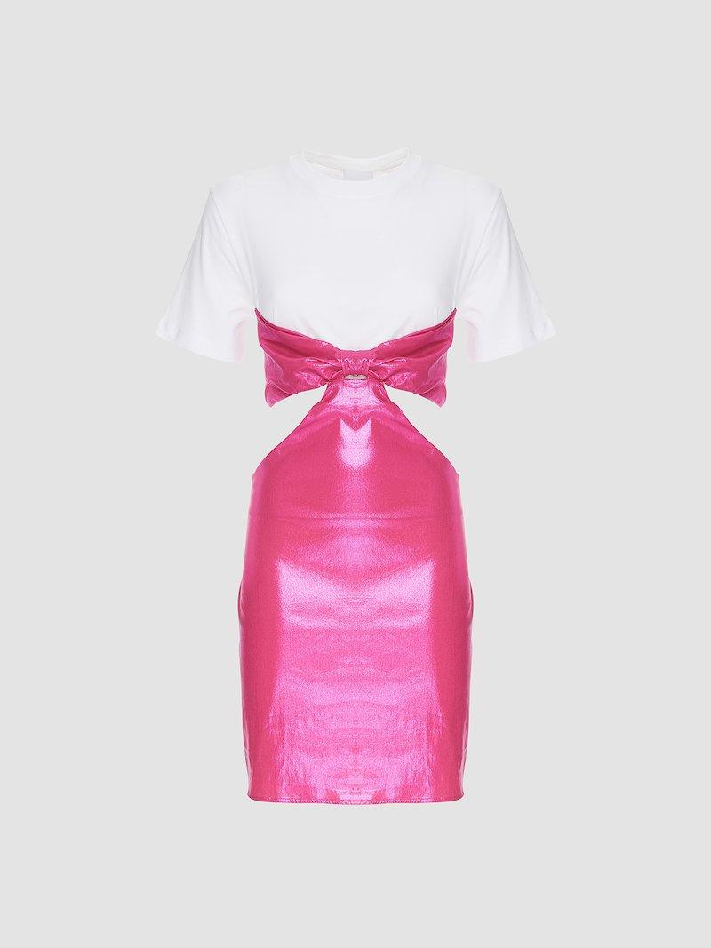 Short bicolor dress