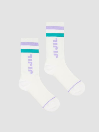 Cotton toweling socks   with fine rib