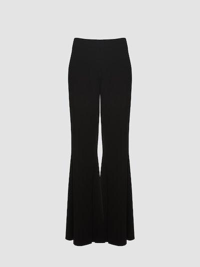 Pantaloni modello a zampa