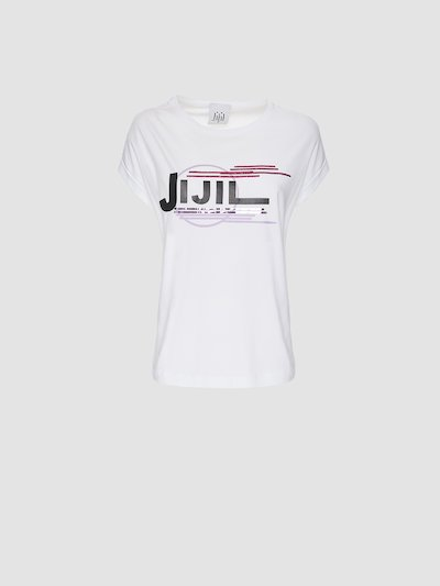 T-shirt con stampa Jijil