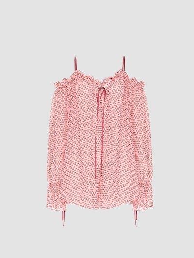 Micro pattern lolita bodysuit