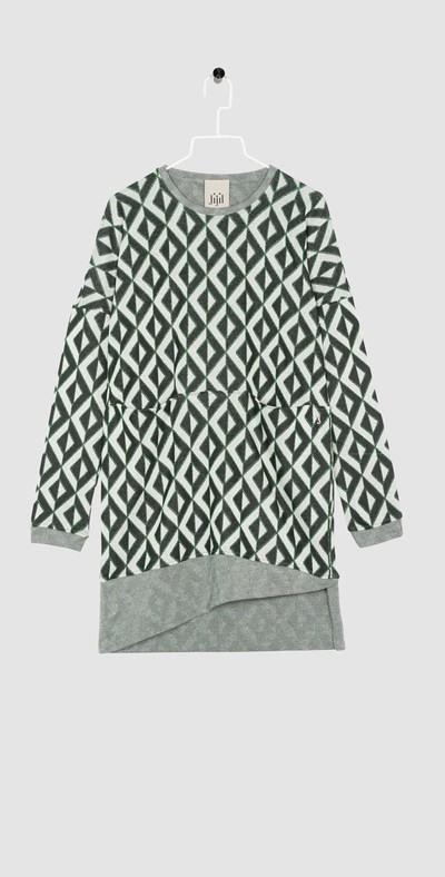 Argyle short gown