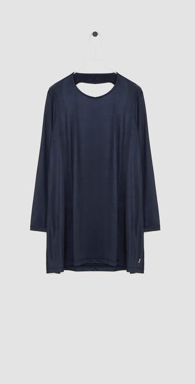 Blue topaz long t-shirt