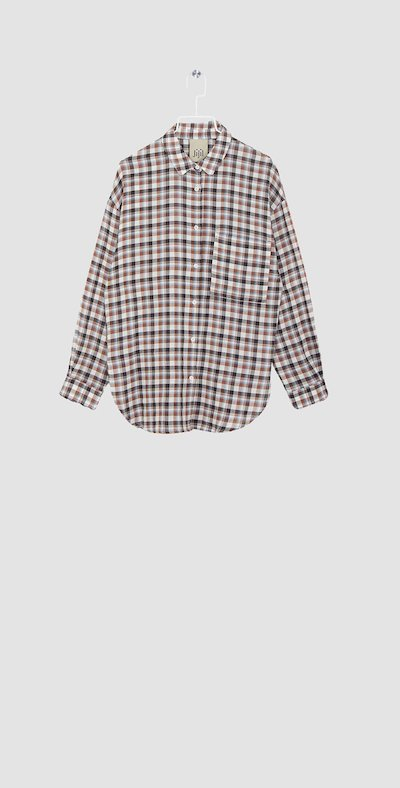 Checked hazel shirt