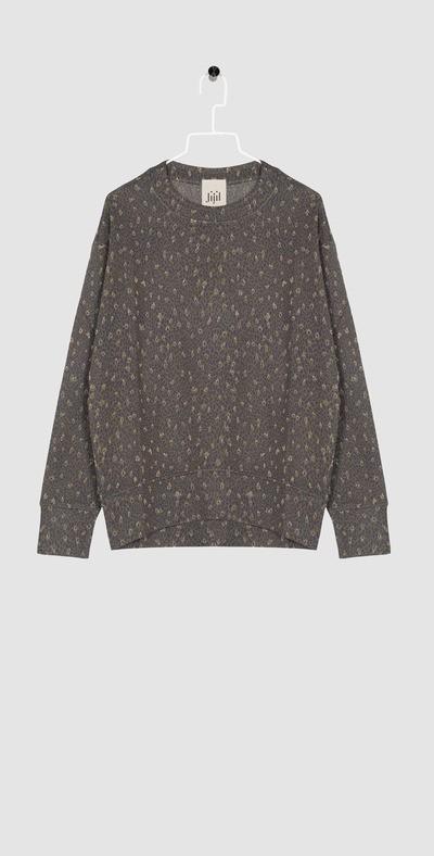 Forest pattern sweatshirt