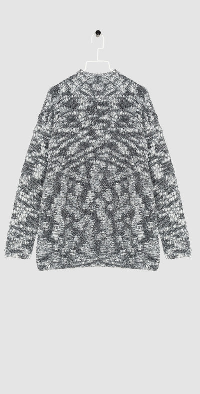 Double wool pullover
