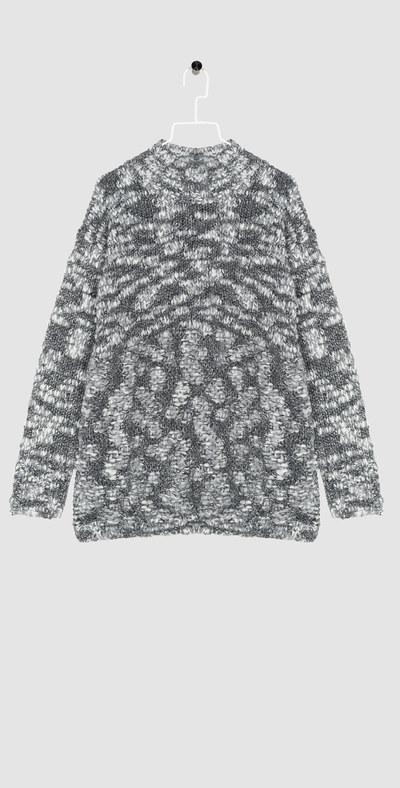Pullover in lana doppia