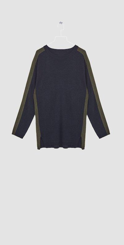Blue/forest t-shirt