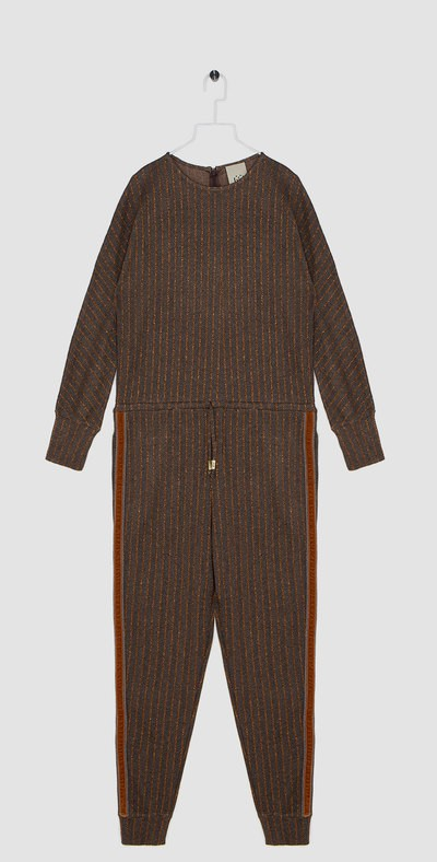 Tracksuit with side bands