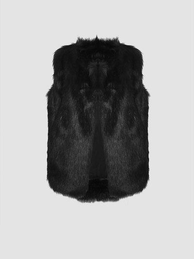 Sleeveless fur