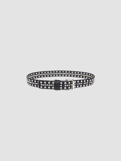 Belt with studs detail
