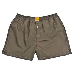 SOLID ARMY GREEN BOXER SHORTS