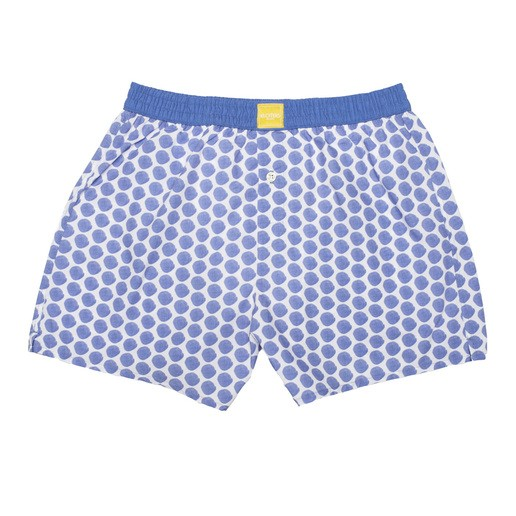 BRUSHED POLKA DOTS BOXER SHORTS