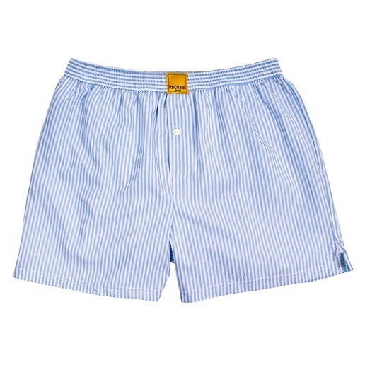 LIGHT BLUE STRIPED BOXER SHORTS