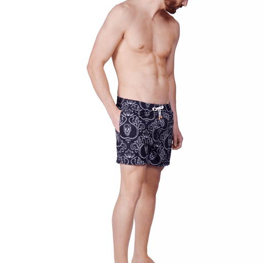 SWIMSHORTS SKULLS BLACK VERSION