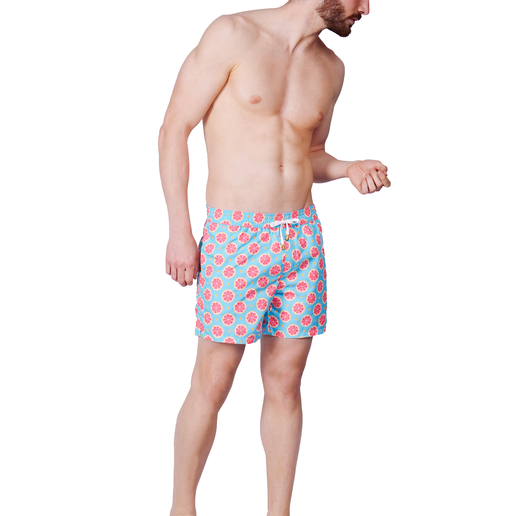 ORANGE SLICES SWIM SHORTS