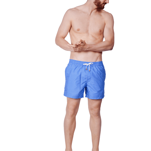WHITE SAILS SWIMSHORTS