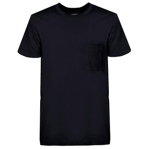 T-SHIRT BLACK POCKET