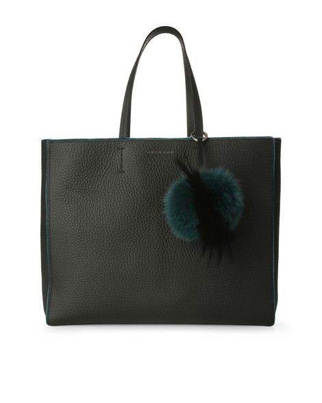 Orciani SOFT LINE LEATHER BAG