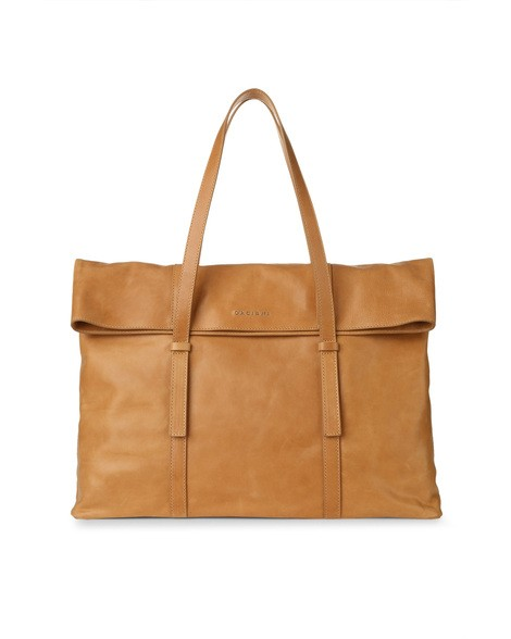 Orciani SOUL LEATHER TOTE BAG