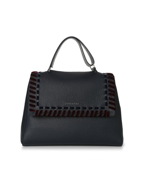 Orciani ETHNIC VELVET LEATHER SVEVA BAG
