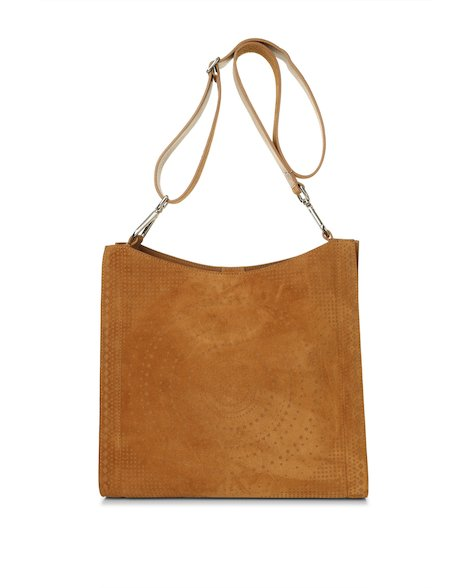 Orciani SENSORY TRIBE SUEDE CROSSBODY BAG