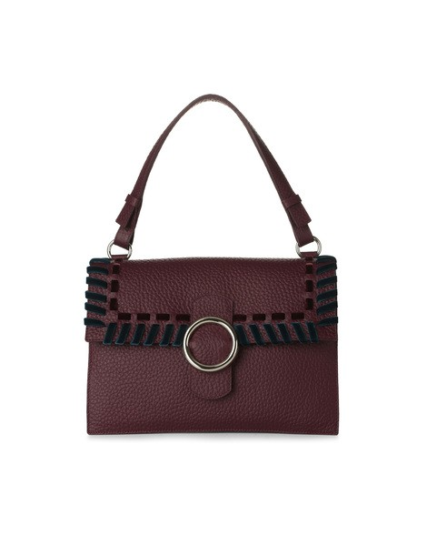 Orciani ETHNIC VELVET LEATHER BAG
