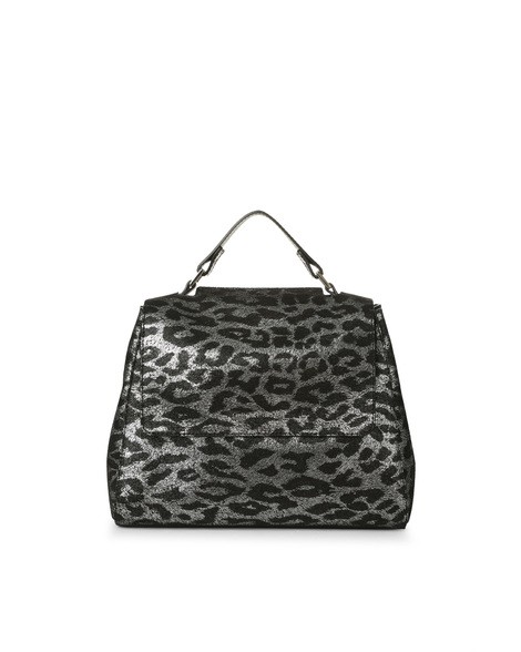 Orciani JUNGLE LEATHER SMALL SVEVA BAG WITH STRAP