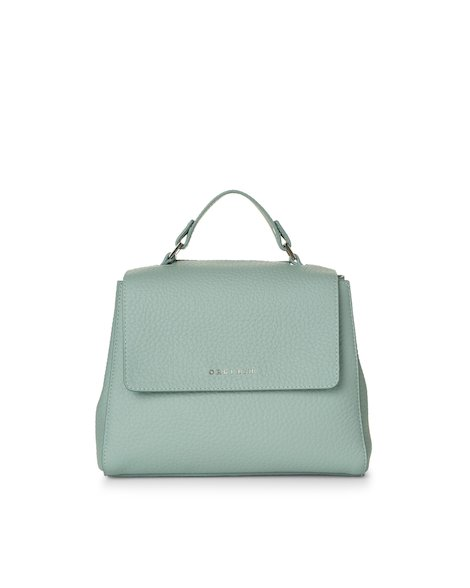 Orciani SOFT LEATHER SMALL SVEVA BAG WITH STRAP