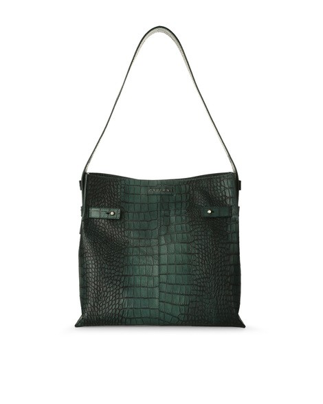 Orciani COCCO LEATHER BUCKET BAG