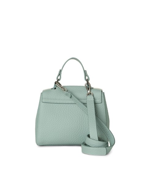 Orciani SOFT LEATHER MINI SVEVA BAG WITH STRAP