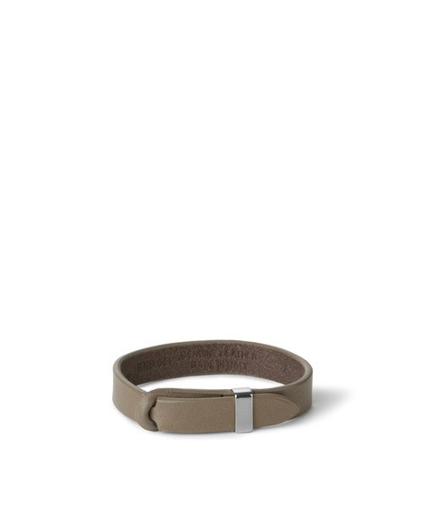 Orciani BULL NOBUCKLE LEATHER BRACELET