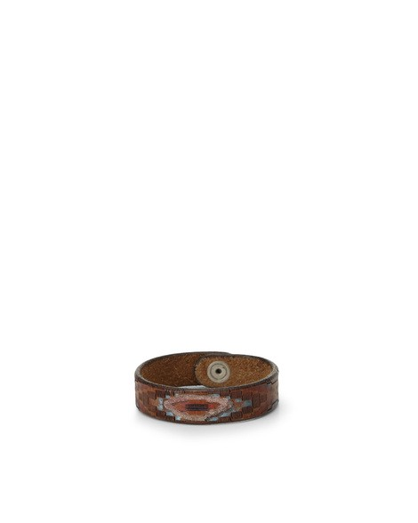 Orciani MEXICO LEATHER BRACELET