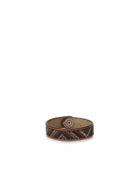 Orciani SIESTA LEATHER BRACELET